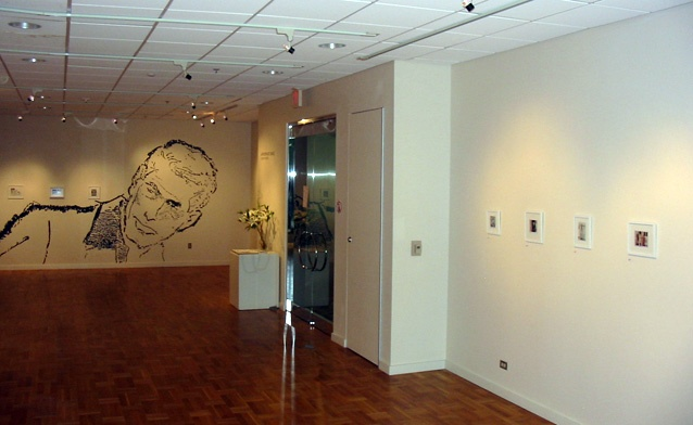 Solo Exhibit-Portland State University, installation view