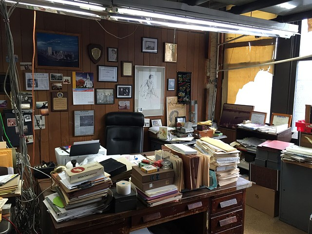 Lou Bindle's Office
