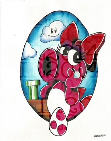 Birdo Watercolor