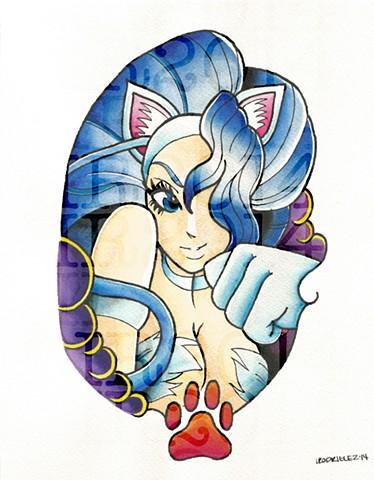 Felicia Watercolor