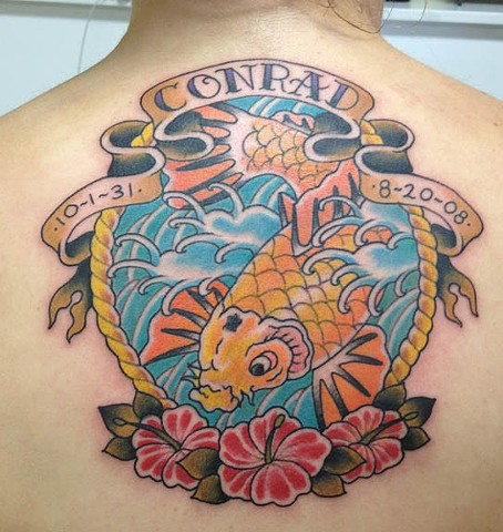 conrad koi fish
