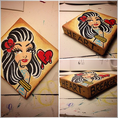 Heartbreaker - Acrylic