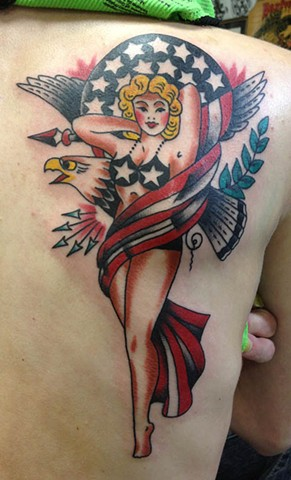 sailor jerry america girl