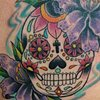 Sugar Skull and Lilys