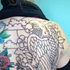 parrot backpiece