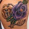 Cover Up - Rose, Heart locket, Key