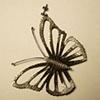 Solitario de Mariposa Butterfly Solitary