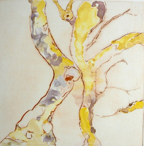 Yellow Spirit Tree