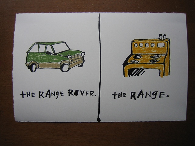 The Range Rover The Range