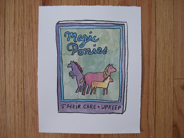 Magic Ponies Their Care and Upkeep