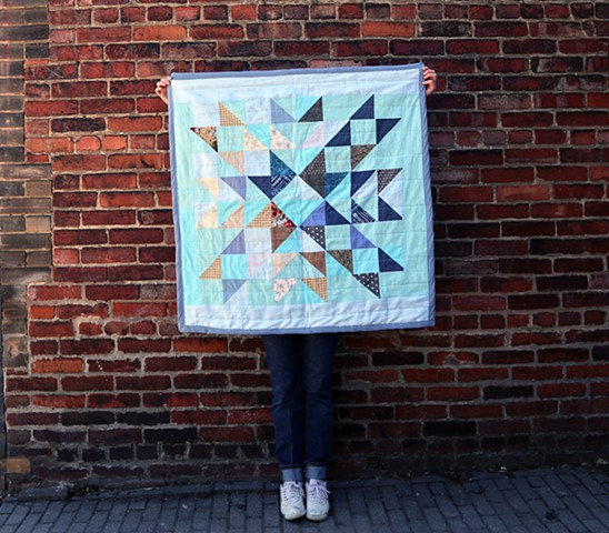 Recycled Patchwork Quilts