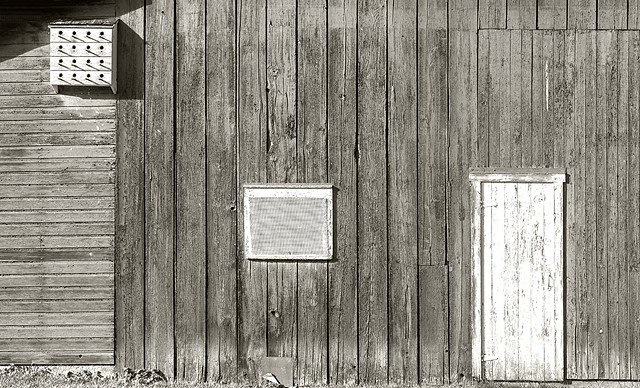Barn Geometry #3 BW