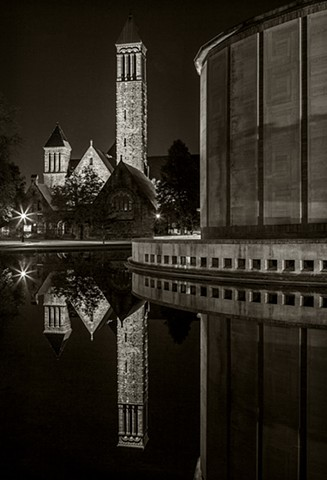 First Presbyterian Church and Kleinhans Music Hall, Buffalo, NY