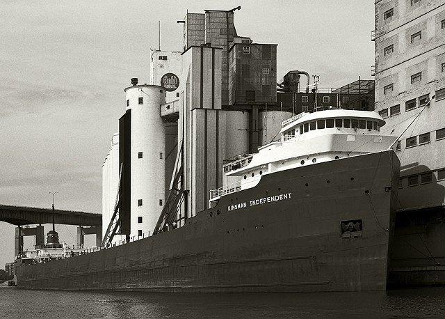 Kinsman Independent lake freighter, General Mills, Buffalo, NY