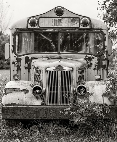 Retired School bus, Alden, NY