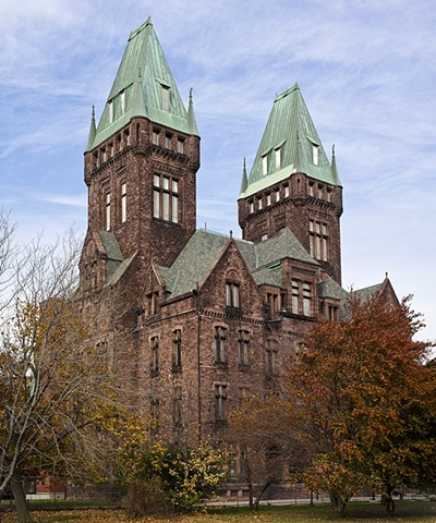 HH Richardson Towers, Buffalo Psychiatric Center, Hotel Henry, Buffalo, NY