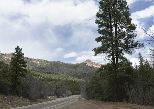 Along NM Route 4