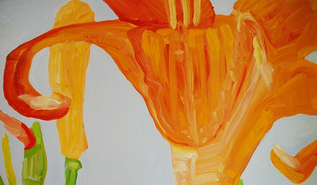Tiger Lily, detail