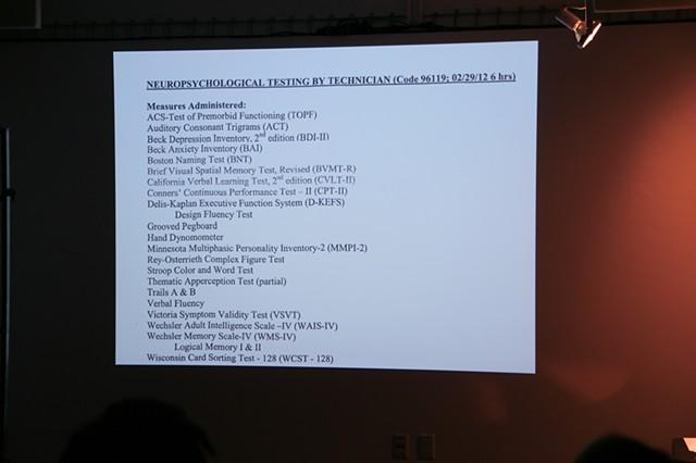 Neuropsychological Evaluation Report
