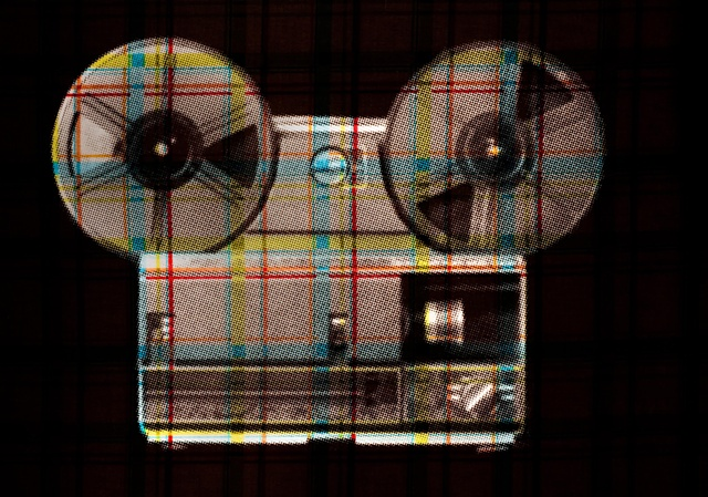 Plaid Projector