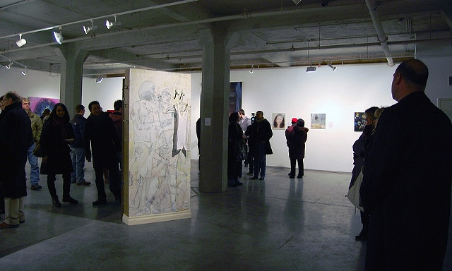 Wet Paint Exhibition 2011