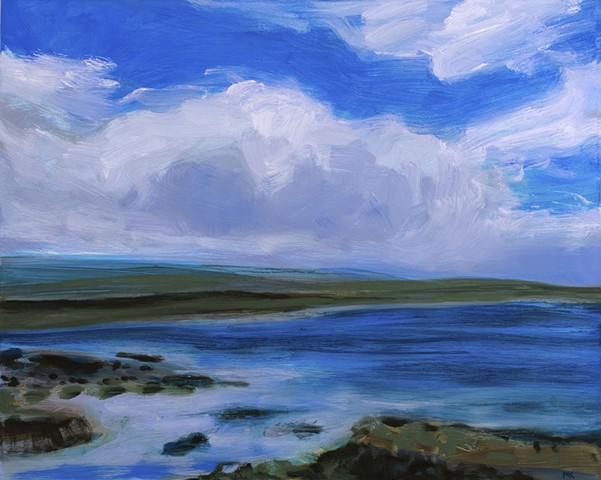 Landscape painting, Irish Landscape, Oil Painting