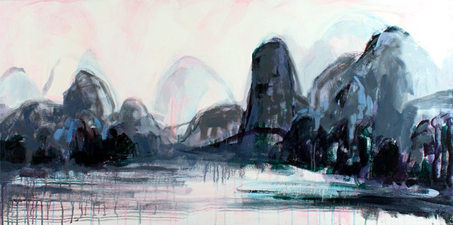 Landscape Oil Painting, Oil Painting, China Landscape