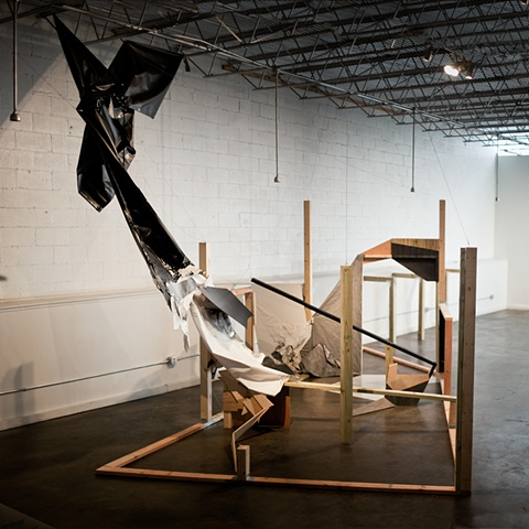 Double Tangent: Site-Specific Installation for Cara and Cabeza Contemporary