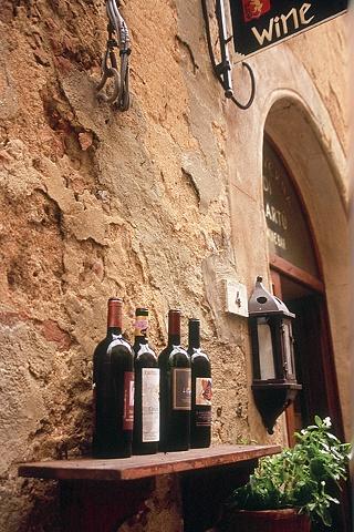 Wine for Sale, San Gimgnano