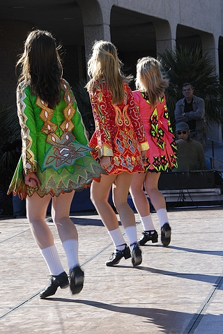 Irish Dancing, Tucson Arts Festival