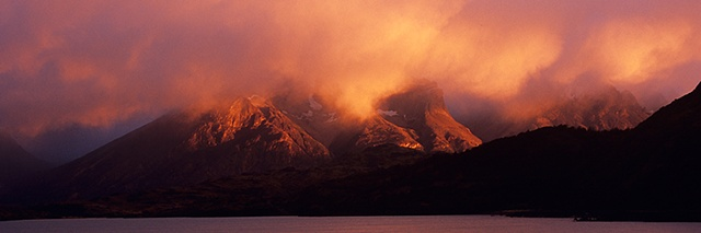 Early Light, Torres del Paine, Chilean Patagonia