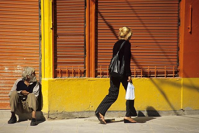 La Boca Street Scene, Buenos Aires