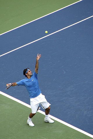 Rodger Federer, US Open