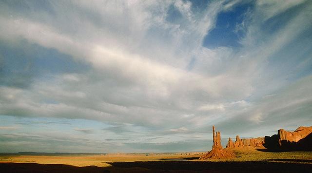 Late Afternoon Sky, Monument Valley, Navajo Tribal Park, Arizona/Utah