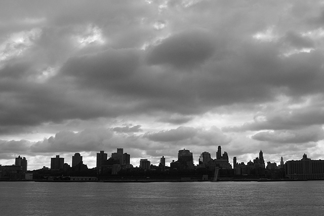 Storm Clouds, Manhattan Morning