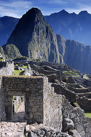 Main Gate, Machu Picchu