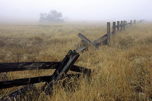 Broken Fence, Mendocino
