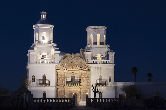 Mission San Xavier del Bac, Tohono O'odham Indian Reservation