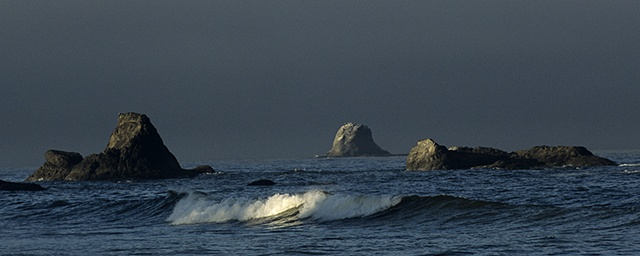 First Light, Pacific Coast, WA