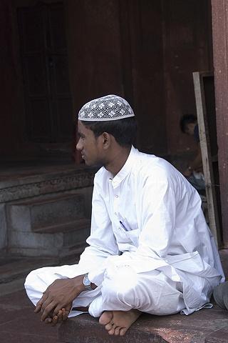 Muslim Man, Delhi