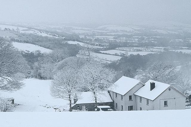 Llangrannog Winter, Wales