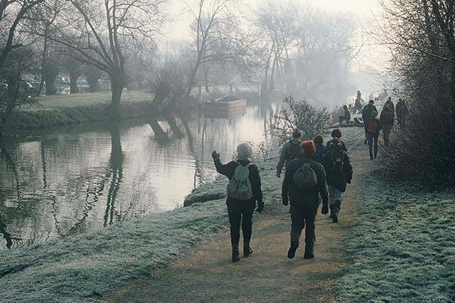 Ramblers on the Isis, Oxford