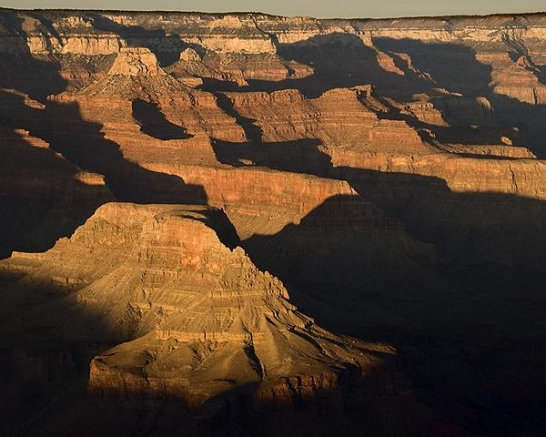 Evening Light, Grand Canyon National Park, Arizona