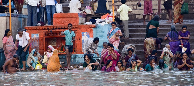 Purifying the Soul, Ganges River