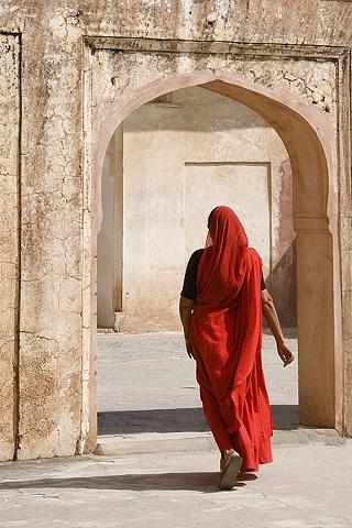 Visiting Amber Fort, Jaipur