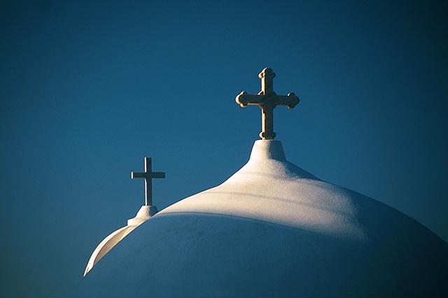 Two Crosses, Santorini