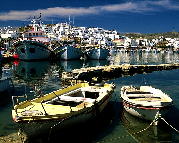 Naousa Boats, Paros