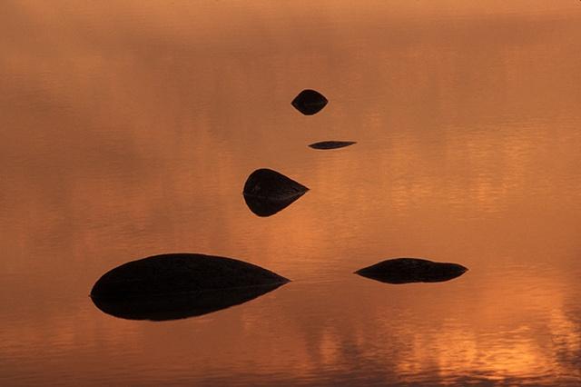 Five Rocks at Sunset, Puerto Penasco, Mexico