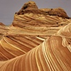 The Wave in Coyote Buttes, Paria Canyon-Vermillion Cliffs Wilderness, Arizona