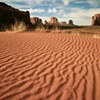 Sand Patterns, Monument Valley, Navajo Tribal Park, Arizona